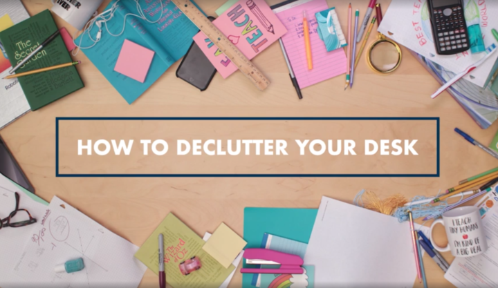 Video: How to Declutter Your Desk
